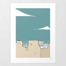 Pignos Paris Art Print