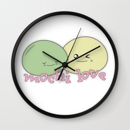 Mochi Love Wall Clock