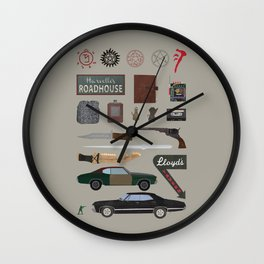 Supernatural (2015) Wall Clock