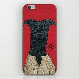 Year's dog (Greyhound) iPhone Skin