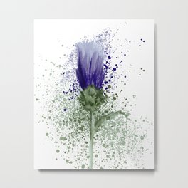 The Thistle  Metal Print