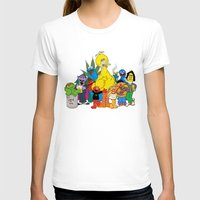 sesame street T-shirts featuring Sesame Street Stoners by Instrum