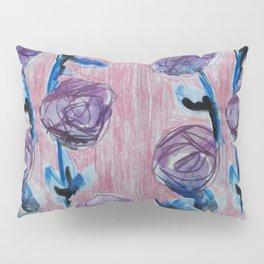 Rose Petals Series Paintings Pillow Sham