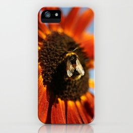 Busy Busy Bumblebee iPhone Case