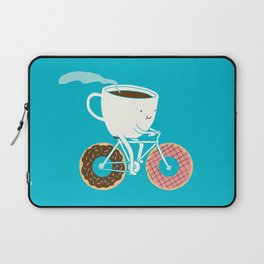 Coffee and Donuts Laptop Sleeve