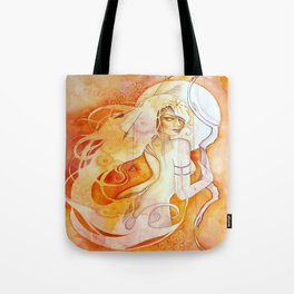 Goddess of Sagittarius - A Fire Element Tote Bag