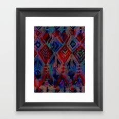 Ikat #2A Framed Art Print
