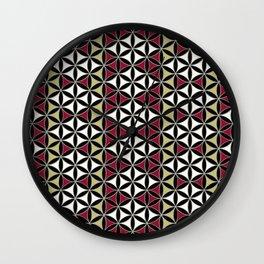 Flower of Life Pattern 5 Wall Clock