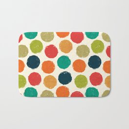 RETRO DOTS Bath Mat