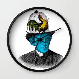 Jaula sombrero Wall Clock