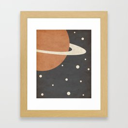 Ring- Space is Hot Framed Art Print