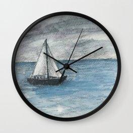 Beyond the Horizon Wall Clock