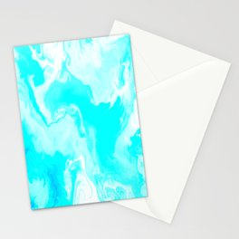 Billowing Blues Stationery Cards