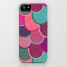 Fish Scales and Mermaid Tales iPhone Case