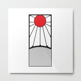 Tanjiro Risings Sun Metal Print