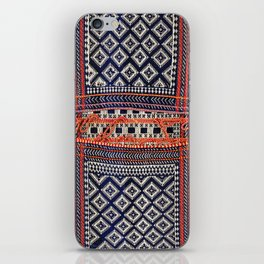 Qashqa'i Khorjin  Antique Fars Persian Bag iPhone Skin