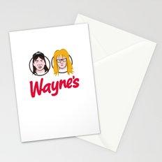 Wayne's Double Stationery Cards