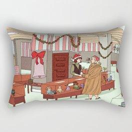 carol and therese Rectangular Pillow