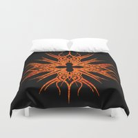 tribal Duvet Covers featuring Tribal by haroulita