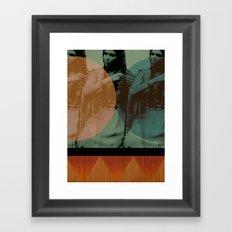 little feather Framed Art Print