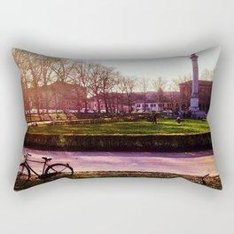 La Bici Rectangular Pillow