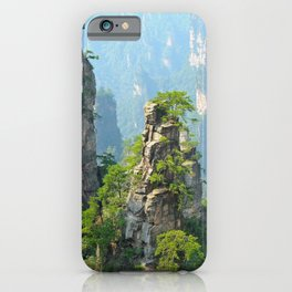 Wulingyuan Scenic Area, China iPhone Case