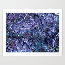 Pollock 2.0 Art Print