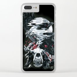 Bloody Murder Clear iPhone Case