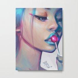 Lolipop Metal Print