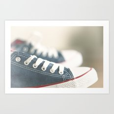 ready for walk Art Print