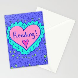 Reading! Stationery Cards