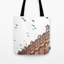 Citys Bird Sanctuary Tote Bag