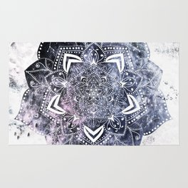 CANCER CONSTELLATION MANDALA Rug