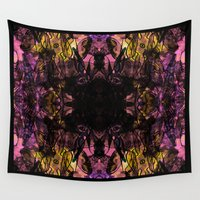 hare Wall Tapestries featuring Hare by MACACOSS
