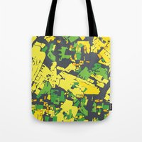 thailand Tote Bags featuring Thailand by The Happy Scientist