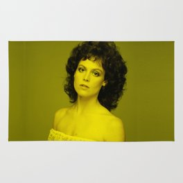 Sigourney Weaver - Celebrity (Florescent Color Technique) Rug