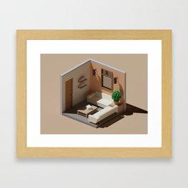 Waiting Room Framed Art Print