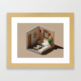 Waiting Room Framed Art Print