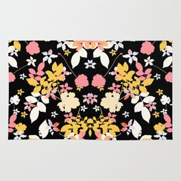 yellow leaves Rug