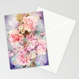 Spring Diamonds Stationery Cards
