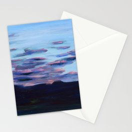 Wetlands at Sunset Stationery Cards
