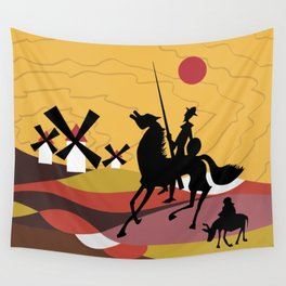 Don Quixote and Sancho Wall Tapestry