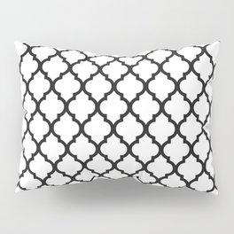 Moroccan B&W Pillow Sham
