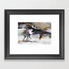 wild and free Framed Art Print