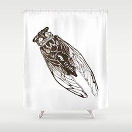 Cicada Shower Curtain