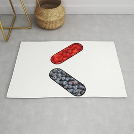 Red Pill or Blue Pill ?  Rug