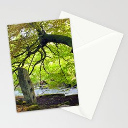 tree and stone - blake dean Stationery Cards