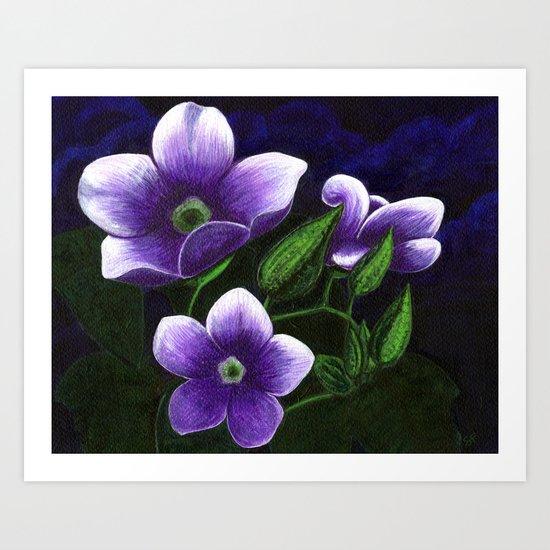 Skyvines Art Print