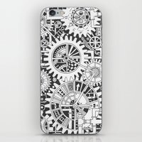 steampunk iPhone & iPod Skins featuring Steampunk by Squidoodle