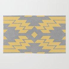 Concrete & Aztec Rug